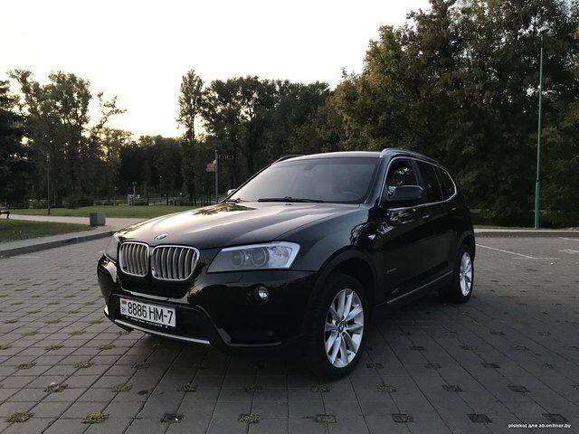 BMW X3 (E83) (2012)