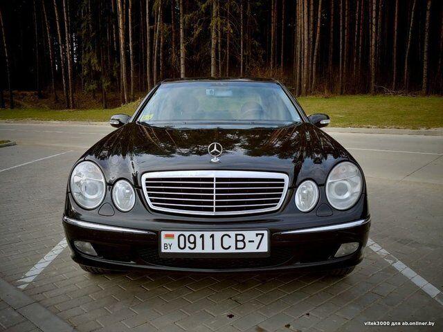 Mercedes E-Class (2003)
