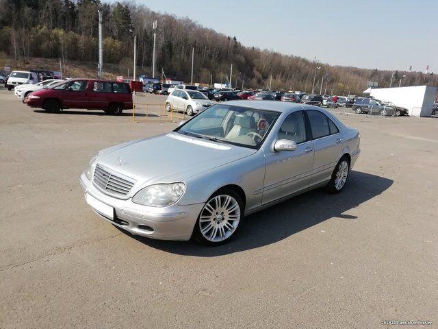 Mercedes S-Class (2004)