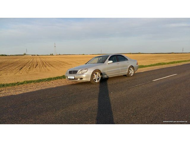 Mercedes S-Class (2001)