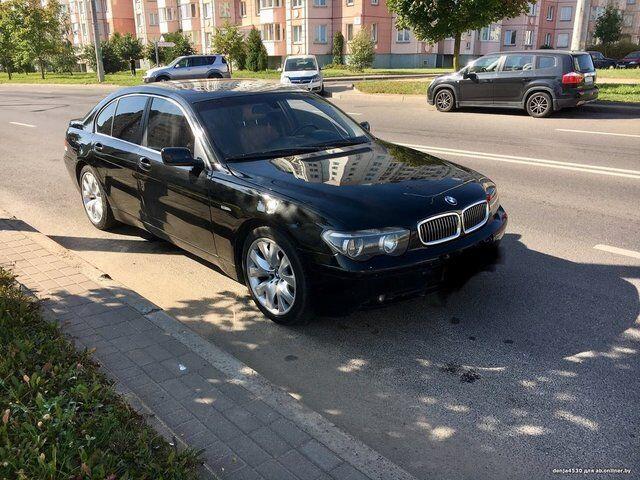 BMW 7 (E65, E66) (2003)