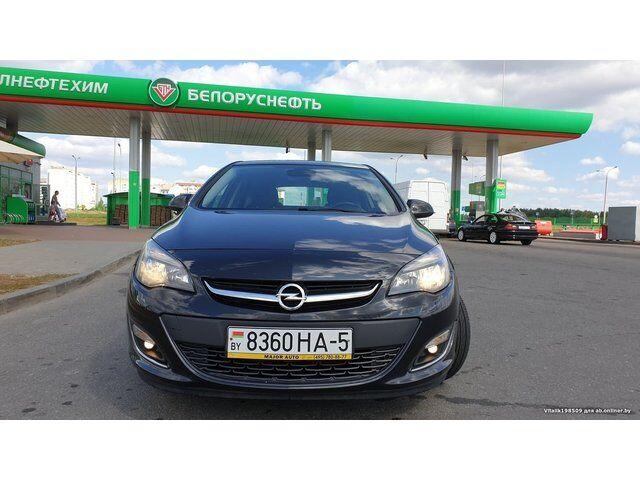 Opel Astra J (2013)