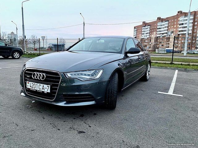 Audi A6 (C7) (2013)