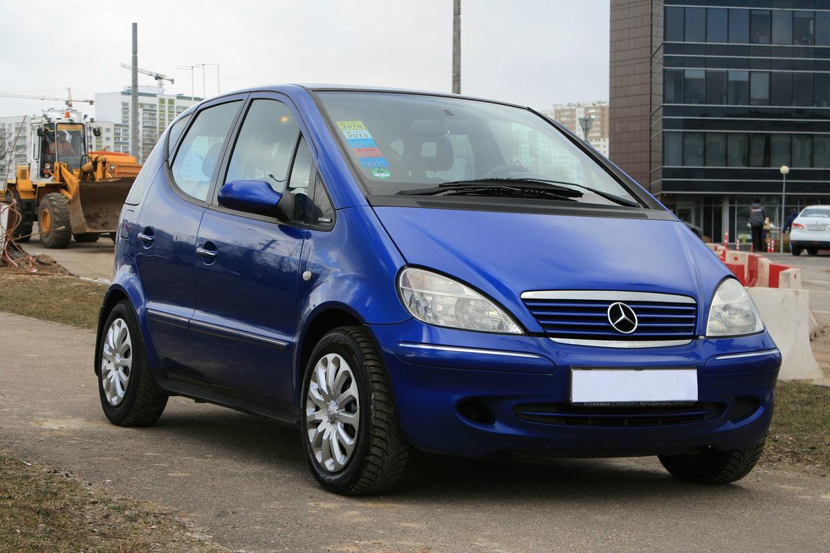 Mercedes A (W168) (2001)